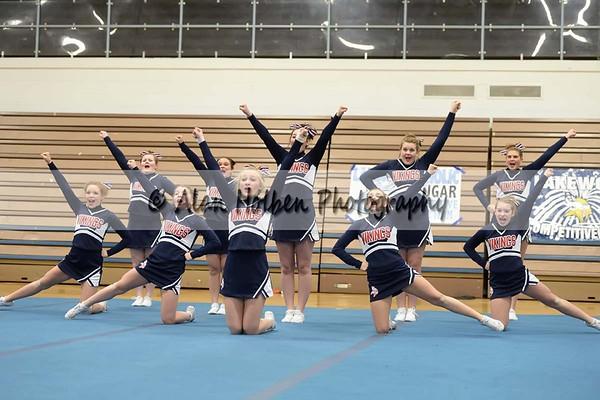 Cheer League meet at LCHS - Lakewood JV