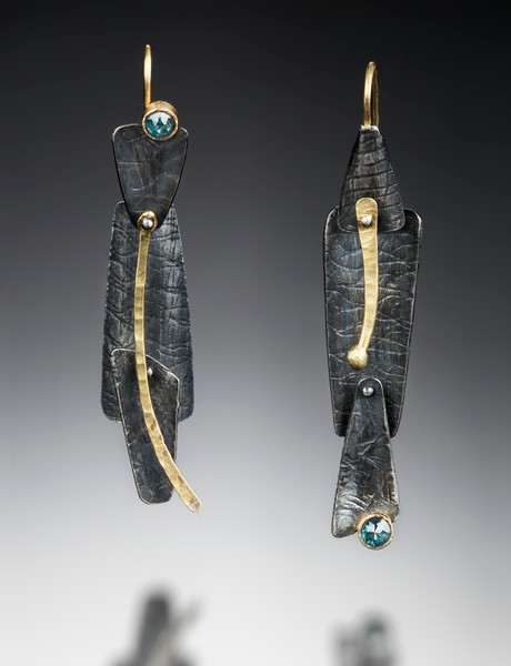 Nichole Collins - Earrings http://www.nicholecollinsjewelry.com/
