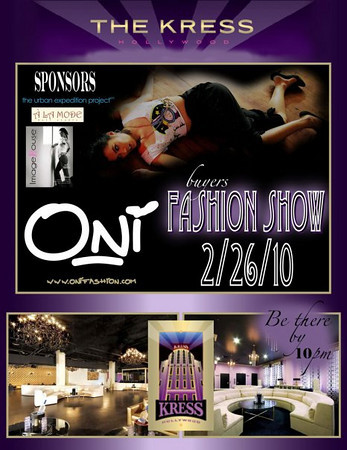 Oni Fashion Show