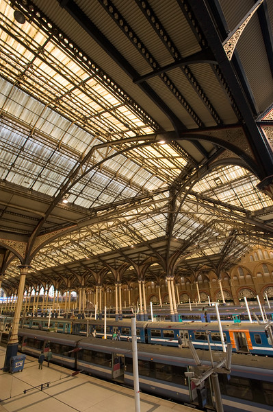 Liverpool Street railway station, EC2, London, United Kingdom