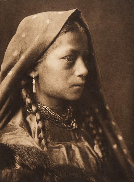 A Taos maid (The North American Indian, v. XVI. Norwood, MA, The Plimpton Press,  1926)