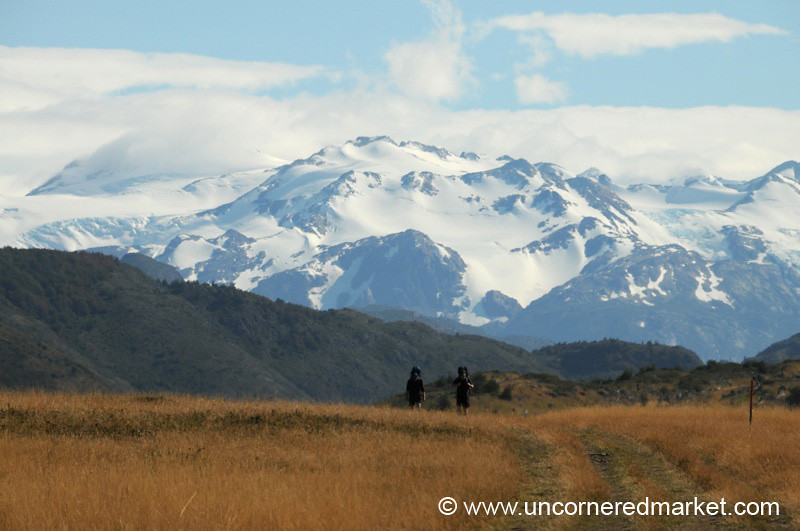 On the Home Stretch of Trekking Torres del Paine - Chile