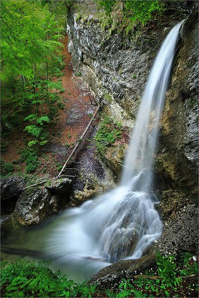 4th waterfall in Pekel gorge
