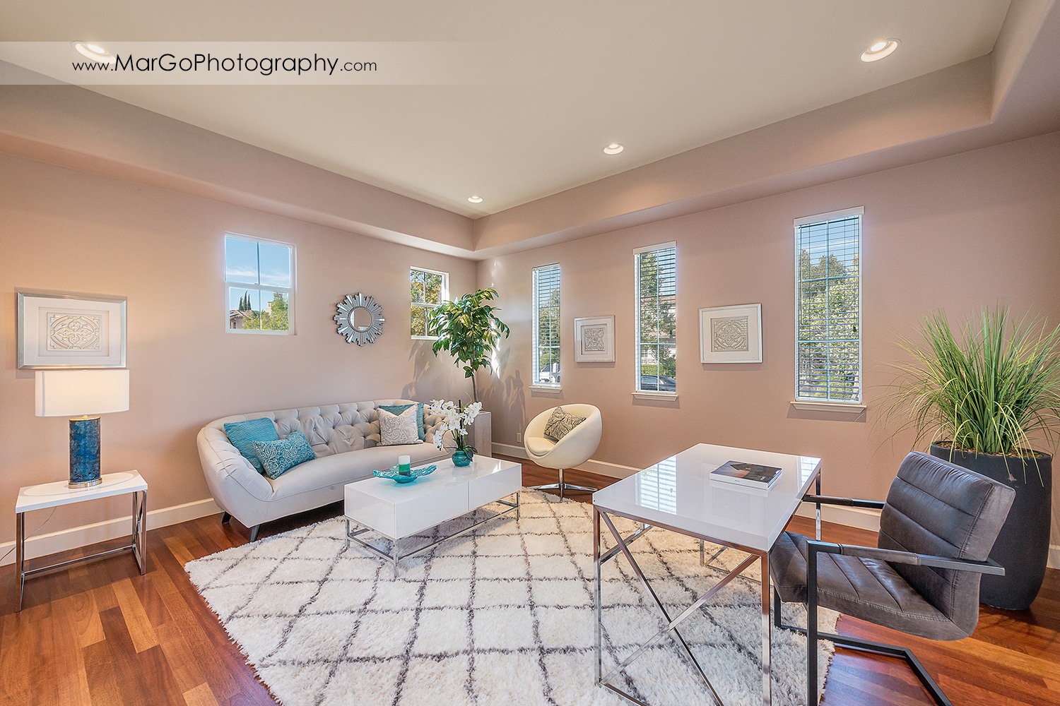 office / guest room in San Ramon house - real estate photography