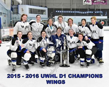 White D1 Championship - Wings vs Thrashers
