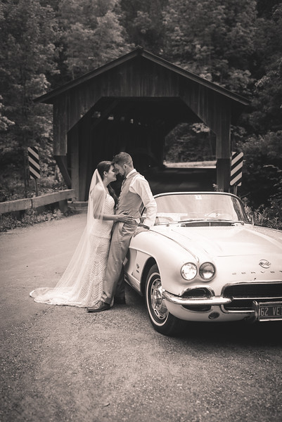 Jessica and Kyle: Married at the Sterling Ridge Log Cabin Resort, Jeffersonville, VT