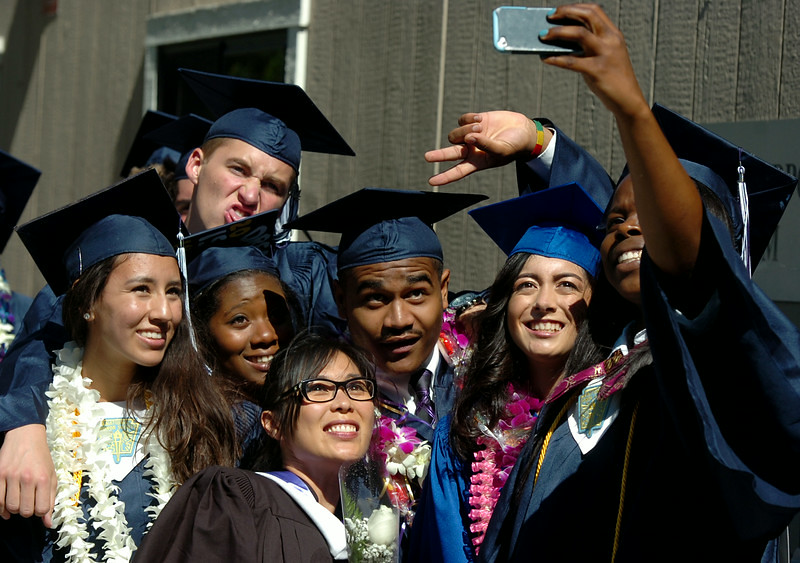 ". ""Rolling Hills Preparatory and Renaissance School  Graduation Class of 2014 in San Pedro, CA. Friday June 13, 2014. (Thomas R. Cordova-Daily Breeze/Press-Telegram)\"""