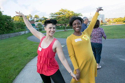 Salsa dancing at Riverfront Park, June 21, 2019