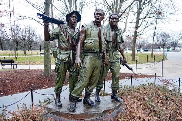 Early Monday Morning at The Vietnam Veterans Memorial