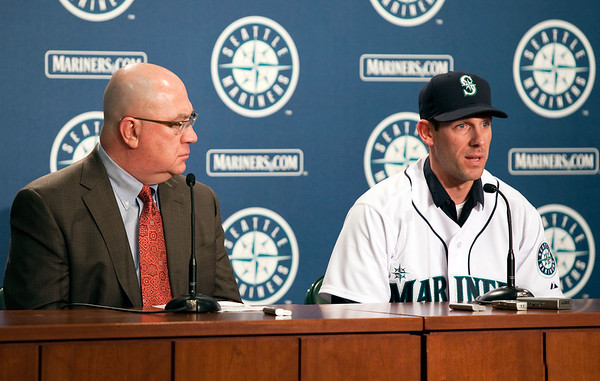 Seattle Mariners-Cliff Lee Press Conference 012210