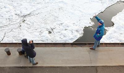 2009 01 11 Eis auf der Elbe