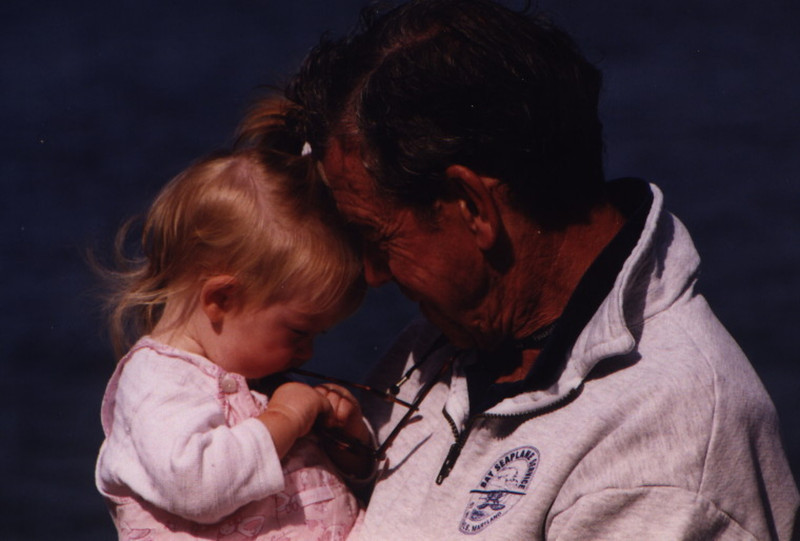 Long Island Picnic- Eliza & Grand Daddy.JPG
