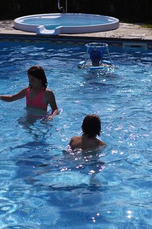 Fantauzzi Kids in Mollicone Pool August 2012