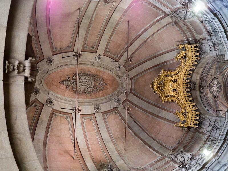 Roof of Inside Igreja dos Clérigos