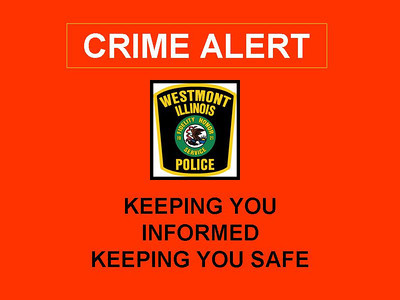Westmont Wanted Robber