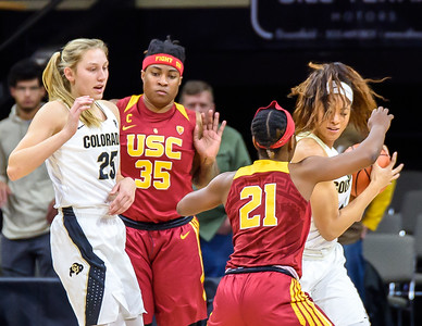 PAC12 - Women's Basketball - CU vs USC - 20180112