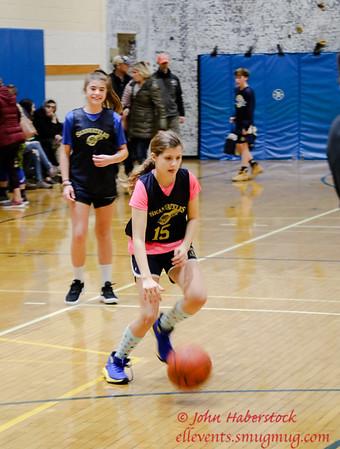 B DeLaney Basketball Girls 6th