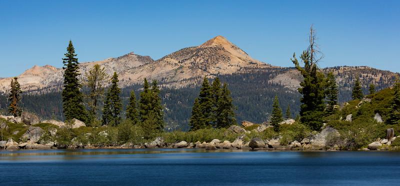 Pyramid Peak from Cody Lake