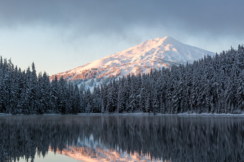 Mount Bachelor Winter Sunrise