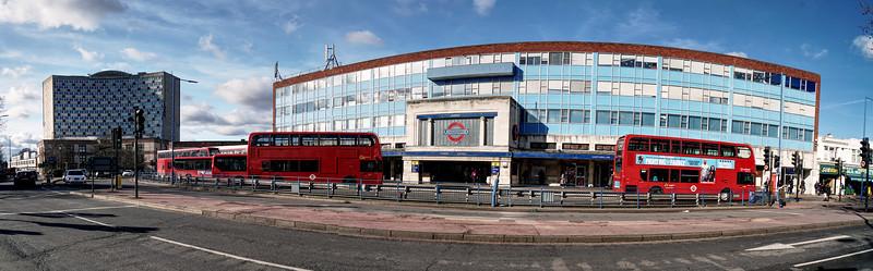 Morden Station Panorama
