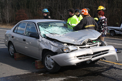Two Vehicle Accident, SR209, Pottsville Stretch, Schuylkill Township (3-5-2012)