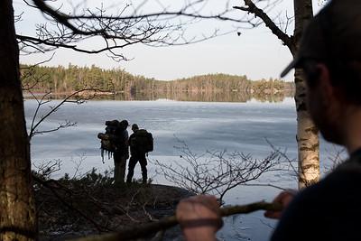 Sweden Spring Hike