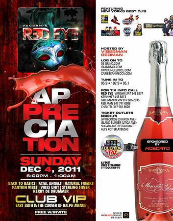 12/04/11    REDZ EYEZ APPRECIATION PARTY