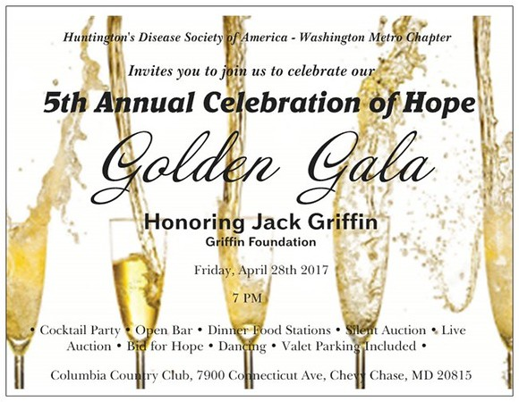 5th Annual Celebration Of Hope Golden Gala