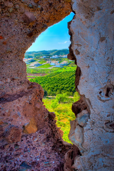 PORTugalHOLE in the WALL at Castle Silves, Portugal