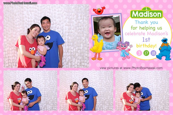 Madison's 1st Birthday Party