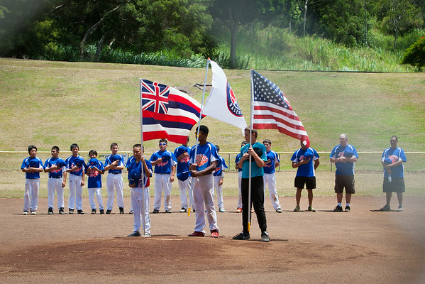 Little League Hilo All Stars vs North Hawai'i (6/21/14)