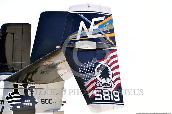 Grumman E-2 Hawkeye Tail Pictures