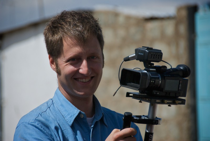 Andy on the glidecam  OFM team