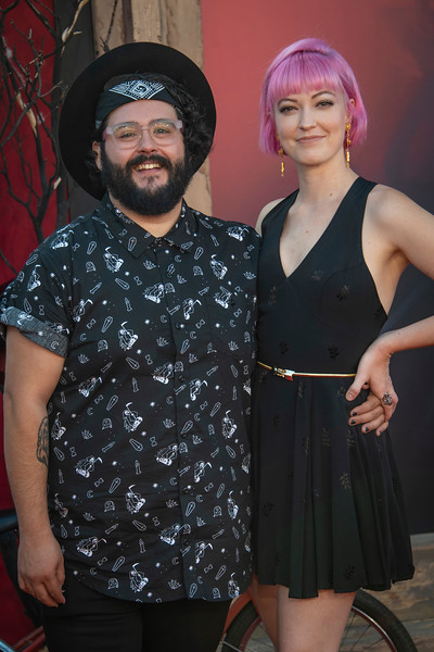 "WESTWOOD, CA - AUGUST 26: Steve Zaragoza and Alana Fickes attend the Premiere Of Warner Bros. Pictures' ""It Chapter Two"" at Regency Village Theatre on Monday, August 26, 2019 in Westwood, California. (Photo by Tom Sorensen/Moovieboy Pictures)"