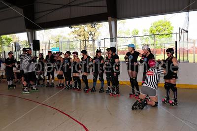 Day 2 - Santa Cruz Derby Girls vs Sonoma County Roller Derby