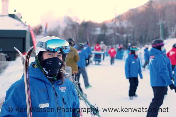 2021-01-10 Loon Skiing