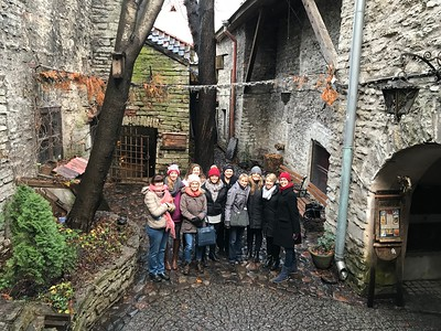 HCC's Student Nurses in Narva, Estonia