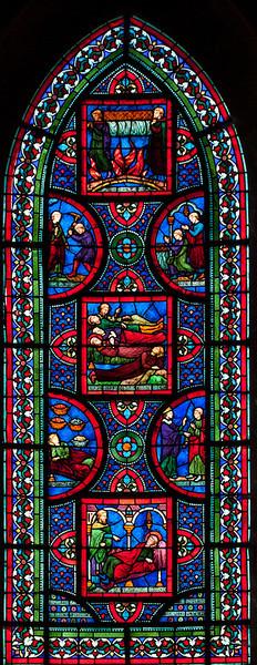 Caen Abbaye-aux-Hommes - Chapel Window (19c)