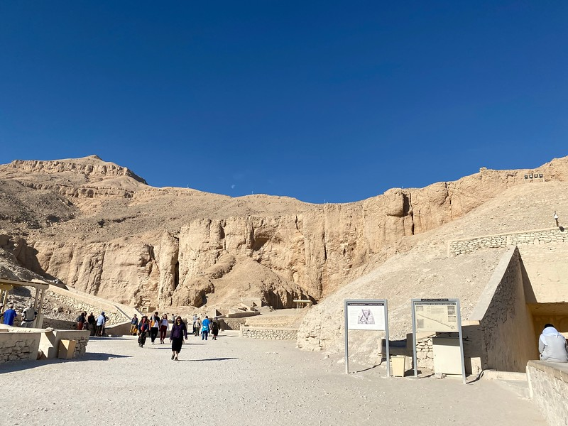 More than 60 tombs are buried in the hills of the West Bank of Luxor