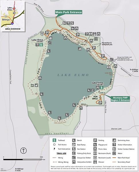 Lake Elmo State Park (Trail Map)