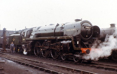 70013 Oliver Cromwell  Pre 1968