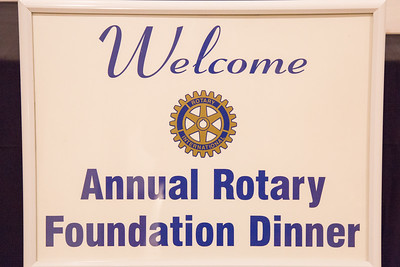 Rotary Foundation Dinner 2018