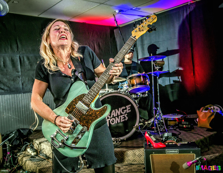Julie Strange with the Strange Tones