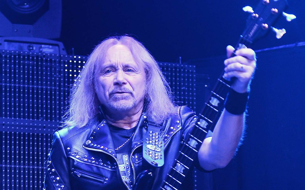 . Bassist Ian Hill of Judas Priest is 66. (Getty Images: Ethan Miller)
