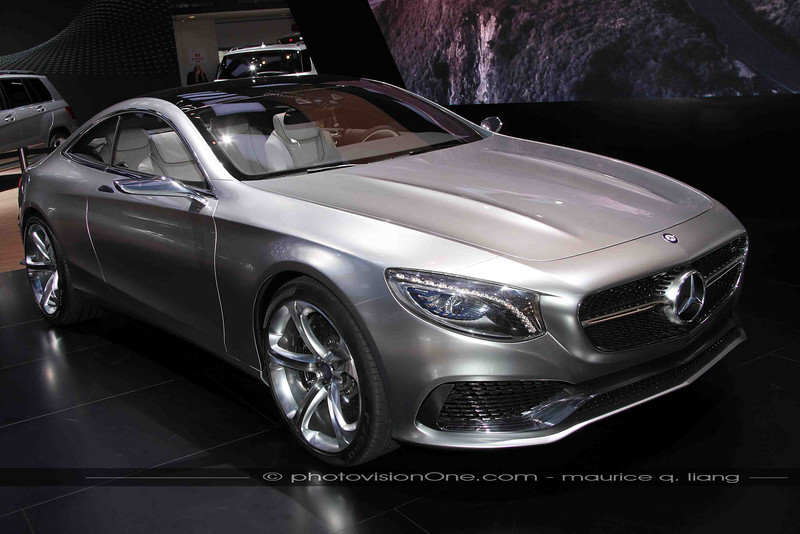 Mercedes S-class coupe is a hit!