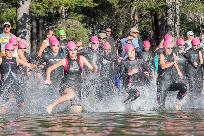 Donner Lake Tri Sprint Swim