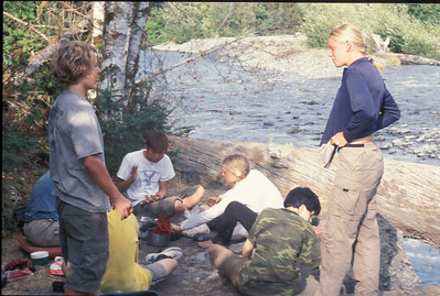 Camp Seymour Backpacking
