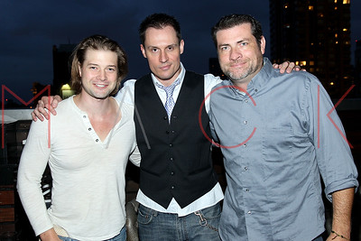 NEW YORK, NY - AUGUST 07:  Retro Celebrity Happy Hour at XVI Rooftop Lounge on August 7, 2013 in New York City.
