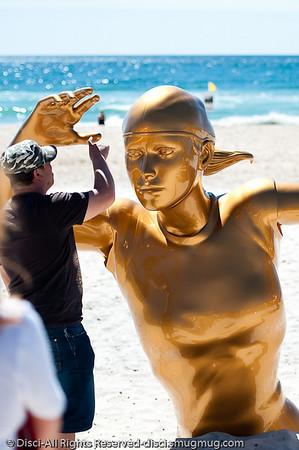 2010 Swell Sculpture Festival, Currumbin Beach, Gold Coast, September 2010. Photographed by Des Thureson:  http://disci.smugmug.com
