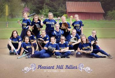 Pleasant Hill JV Softball 2017